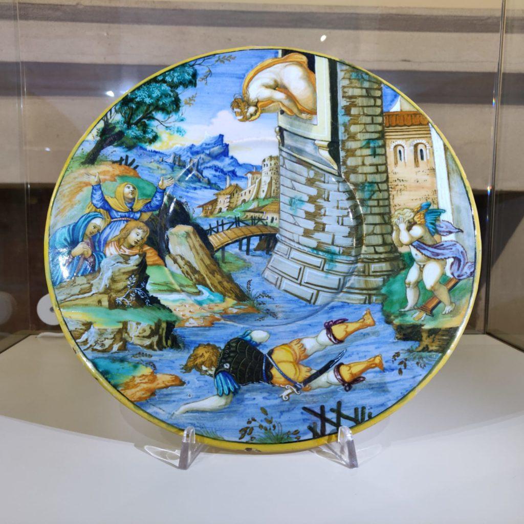 Piatto di Xanto Avelli - XV secolo