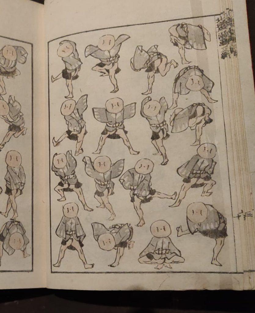 K. Hokusai, Educazione dei principianti tramite lo spirito delle cose.